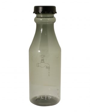 PLINT vandflaske sort 500ml