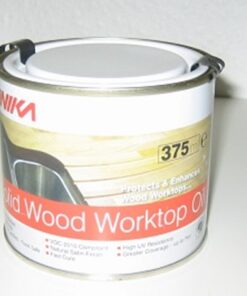 SOLID WOOD WORKTOP OIL 375ML
