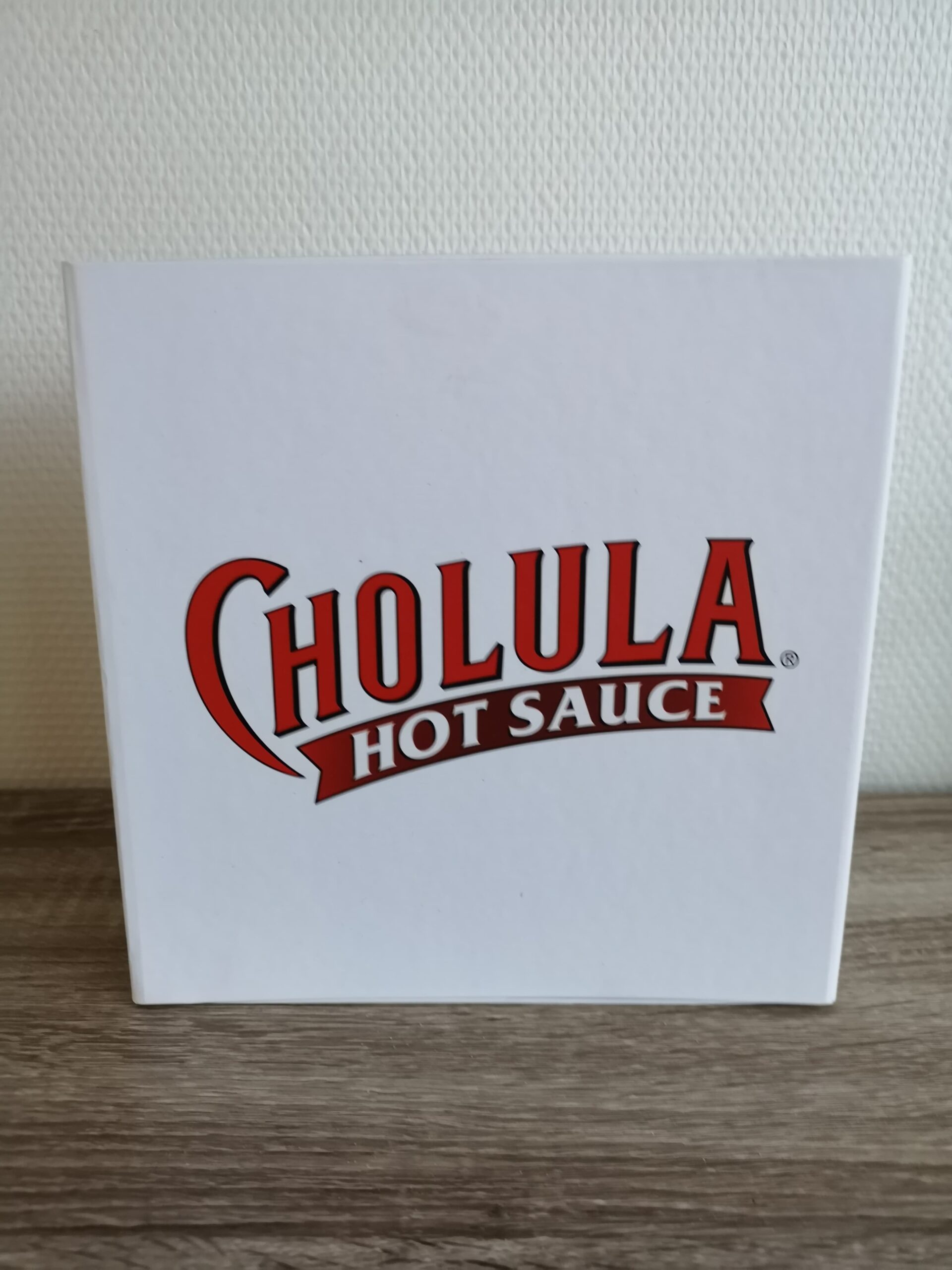 Cholula hot sauce gaveæske