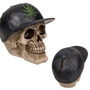 Sparegris Skull Hampblad