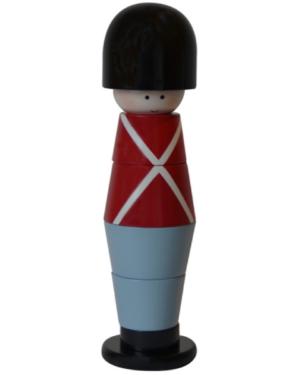 Stablesoldat - kids by friis - sort hue rød trøje og blå bukser