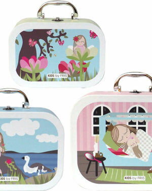 Kuffertsæt pige