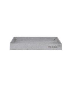 grå betonbakke fra meraki i 30 x 30 cm