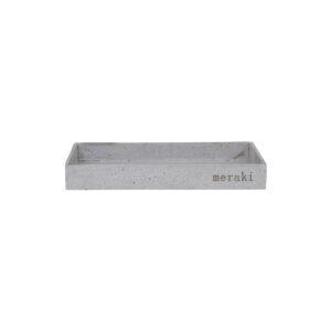 grå betonbakke fra meraki, i 30 x 20 cm.