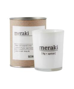 Meraki - Duftlys - Fig+Abricot1
