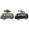 Bil med juletræ