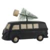Bil med juletræ sort