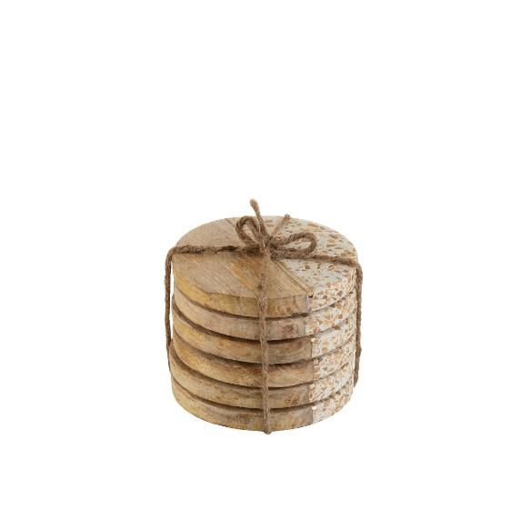 Columbine - Coasters - Træ og Marmor