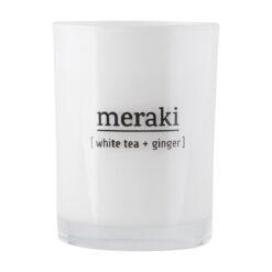 Meraki - Duftlys stor - White tea + ginger