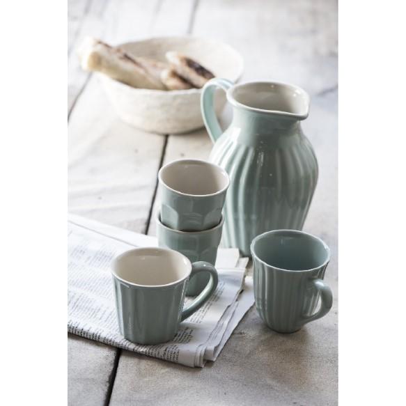 Ib Laursen - Mynte - Krus med riller - Green tea 1
