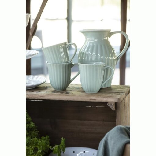 Ib Laursen - Mynte - Krus med riller - Green tea 3