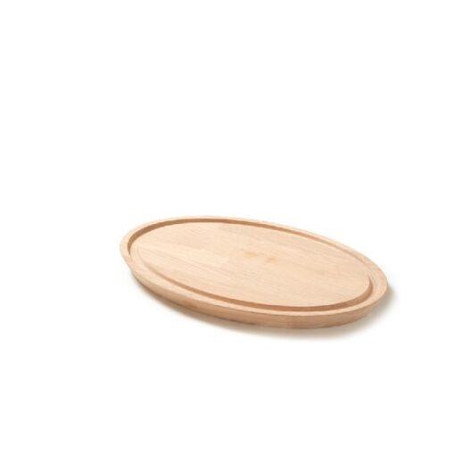 Denwood - Skærebræt oval 43X30X3 cm - Eg