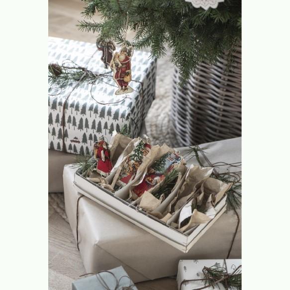Julemand med sæk - Stille nat - Ib Laursen