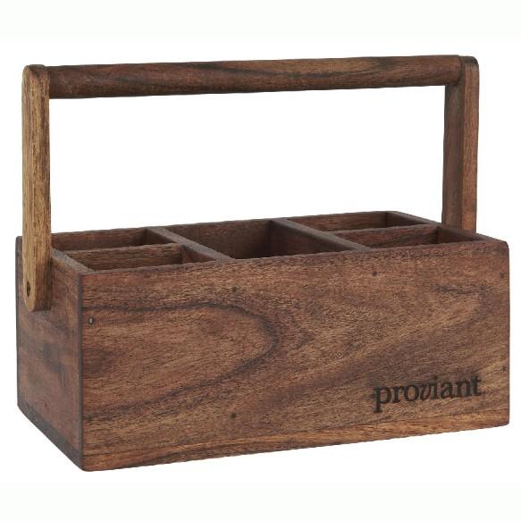 Kasse med 5 rum - Proviant - Ib Laursen