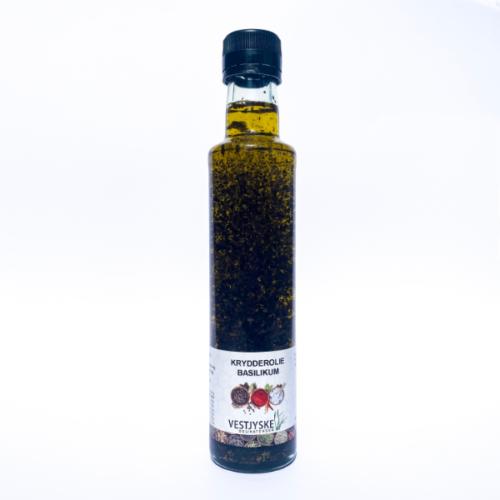Krydderolie Basilikum - Vestjyske Delikatesser