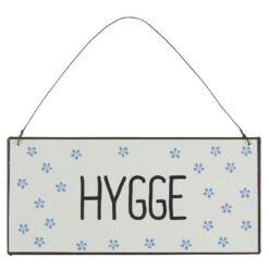 Metalskilt - Hygge - Ib Laursen