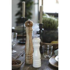 Salt og peberkværn - Hvid - Ib Laursen