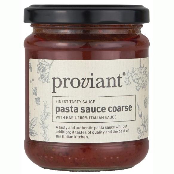 Pastasauce Grov Med Basilikum - Proviant