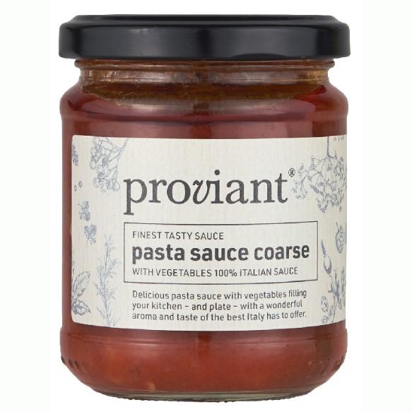 Pastasauce Grov Med Grøntsager - Proviant
